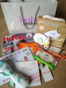 Our brilliant Goody Bag!!